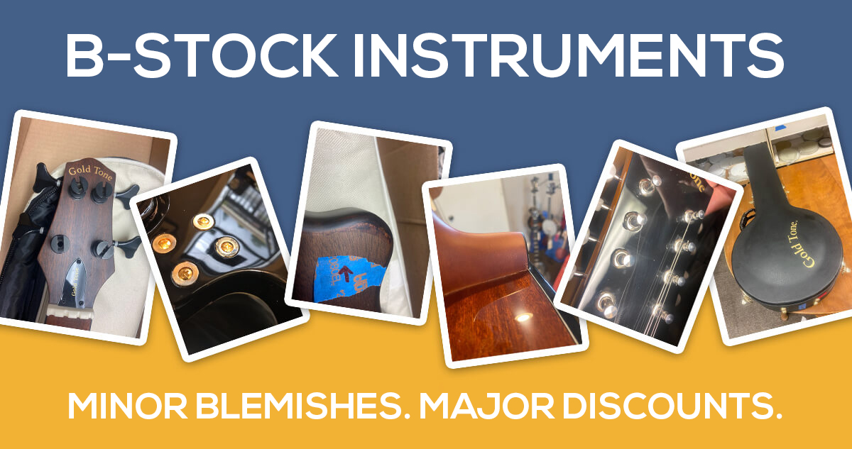 Check out our B-Stock Page! Major discounts on minor factory-blemished pieces