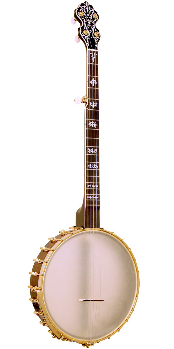 BC-350+: Bob Carlin Banjo with Gold Plated Hardware