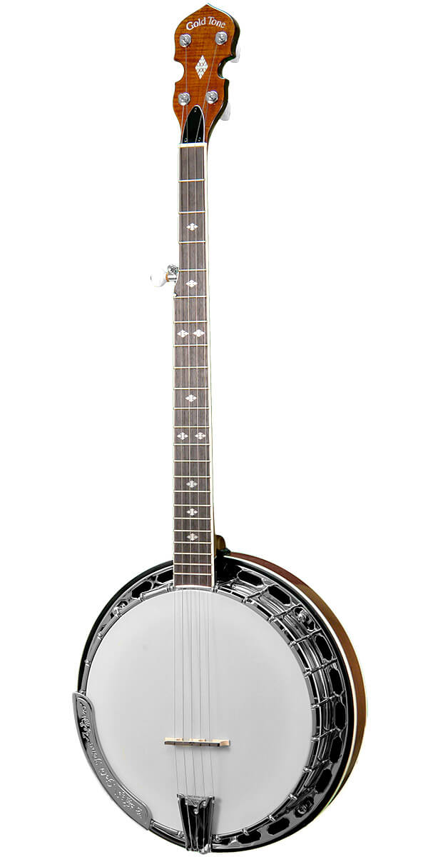 BG-250FW: Bluegrass Banjo with Flange and Wide Neck
