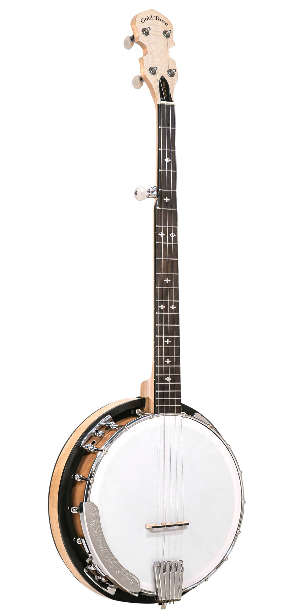 CC-100RW: Cripple Creek Resonator Banjo with Wide Fingerboard