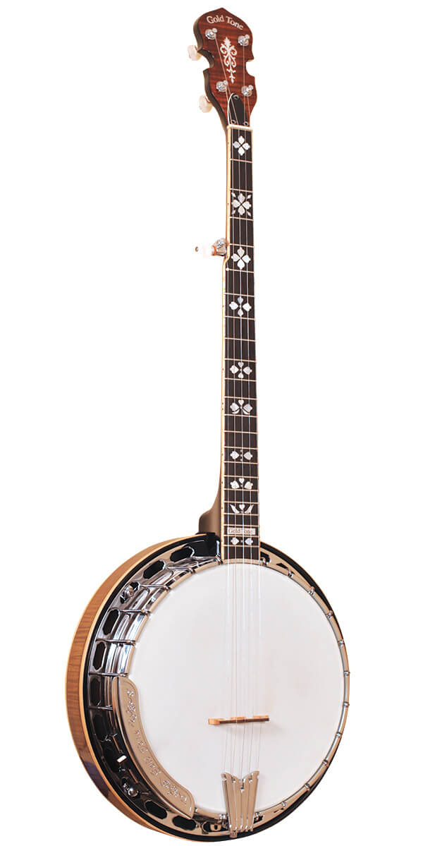OB-250+: Orange Blossom Banjo with JLS #12 Tone Ring