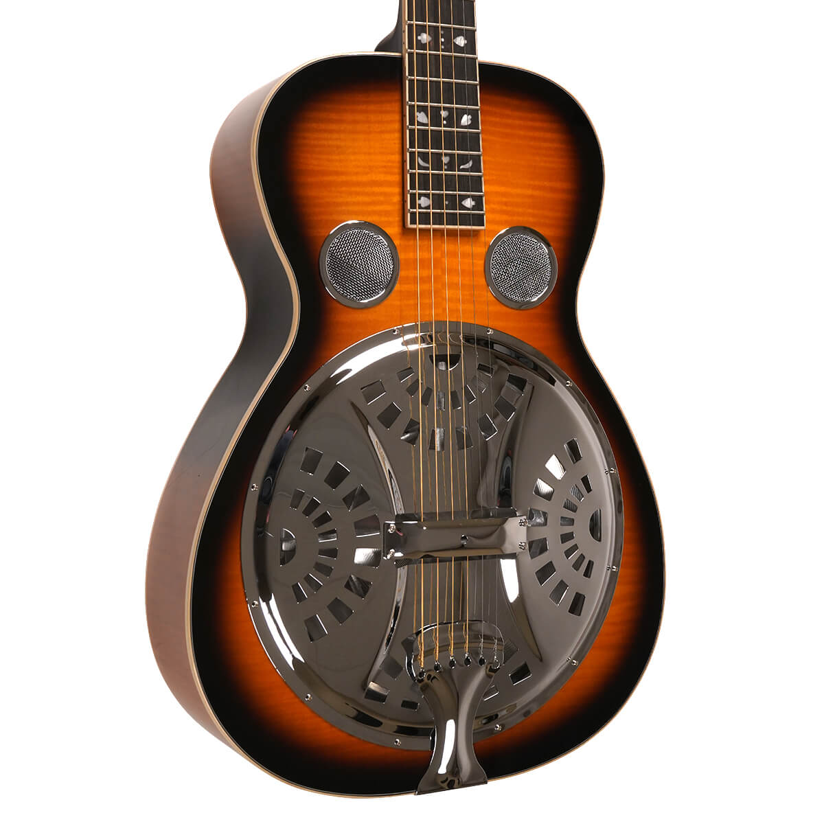 Mastertone™ PBR-D: Paul Beard Signature-Series Roundneck Resonator Guitar Deluxe with Case