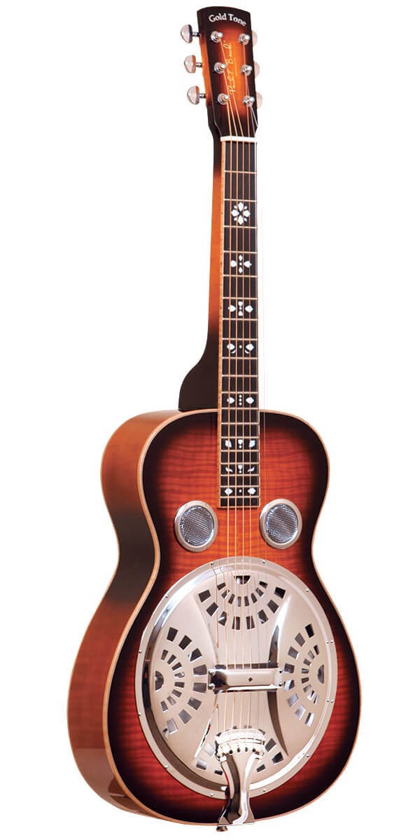 PBS-D: Paul Beard Squareneck Resonator Guitar Deluxe