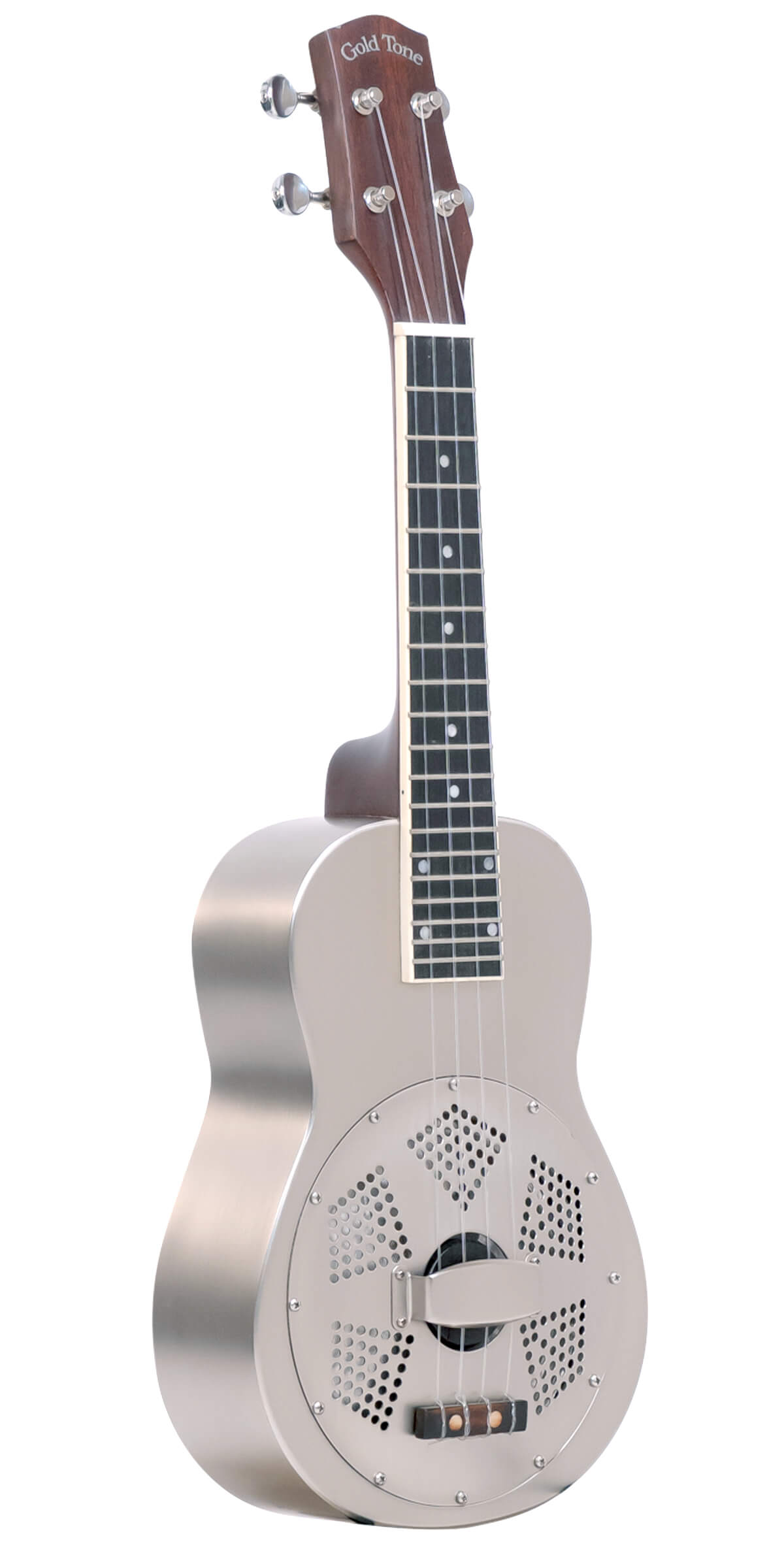 Resouke: Concert-Scale Metal Body Resonator Ukulele