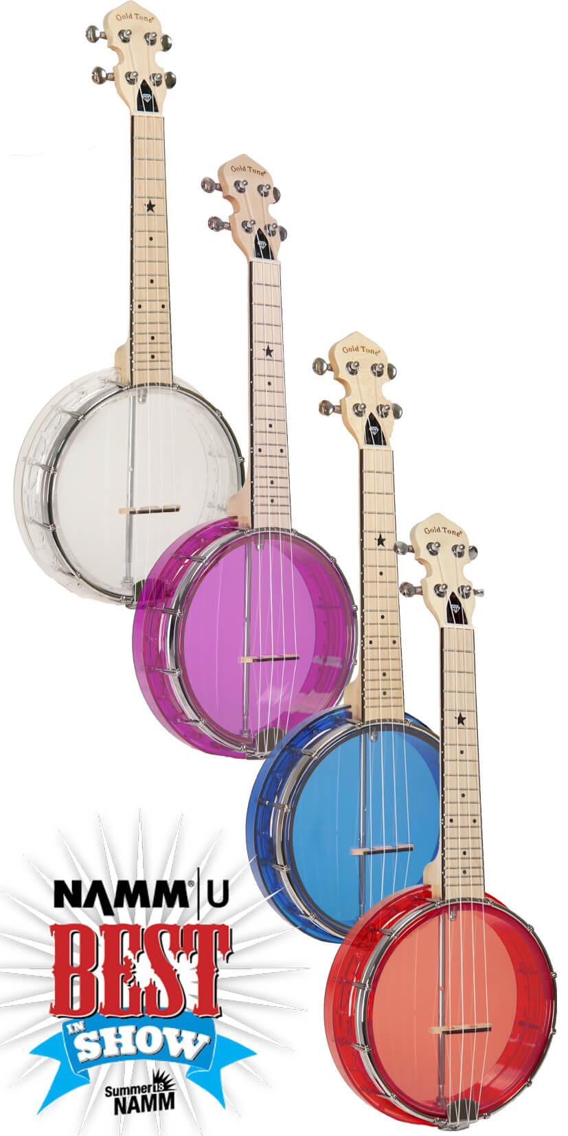 Little Gem: See-Through Banjo-Ukuleles