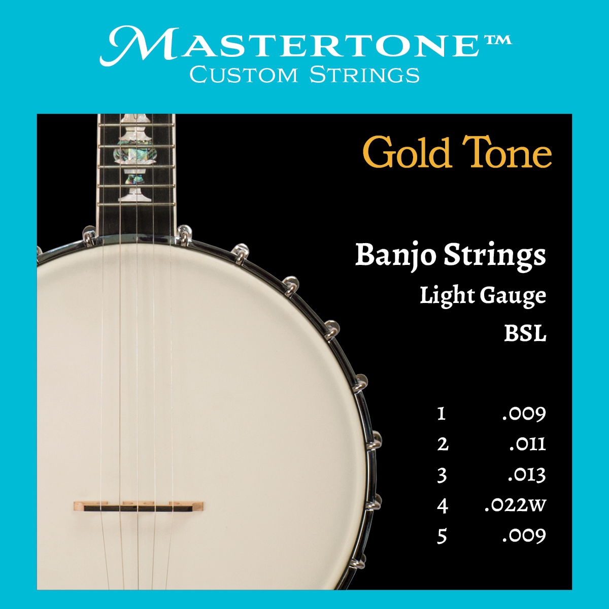 Banjo Light Gauge Strings