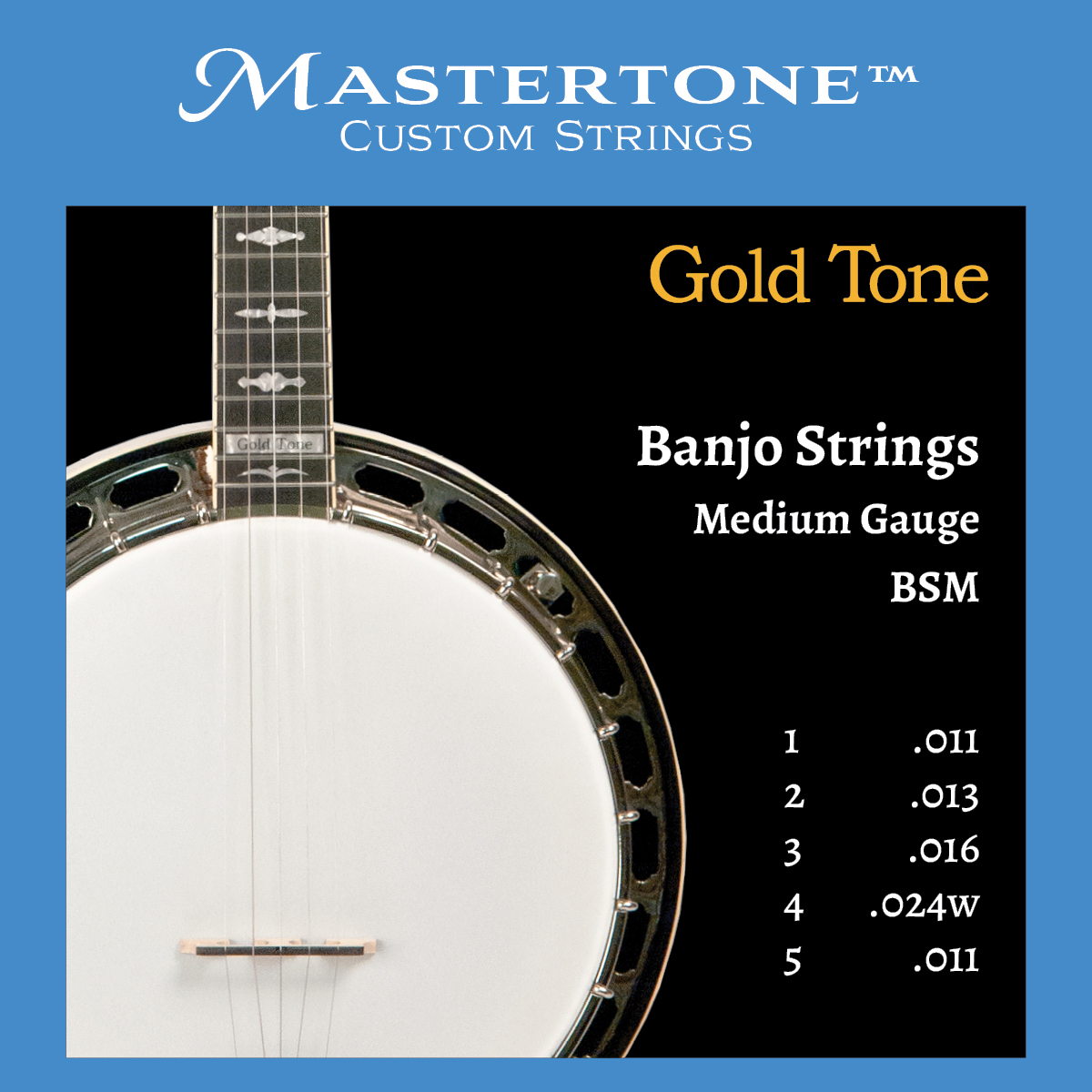 Banjo Medium Gauge Strings