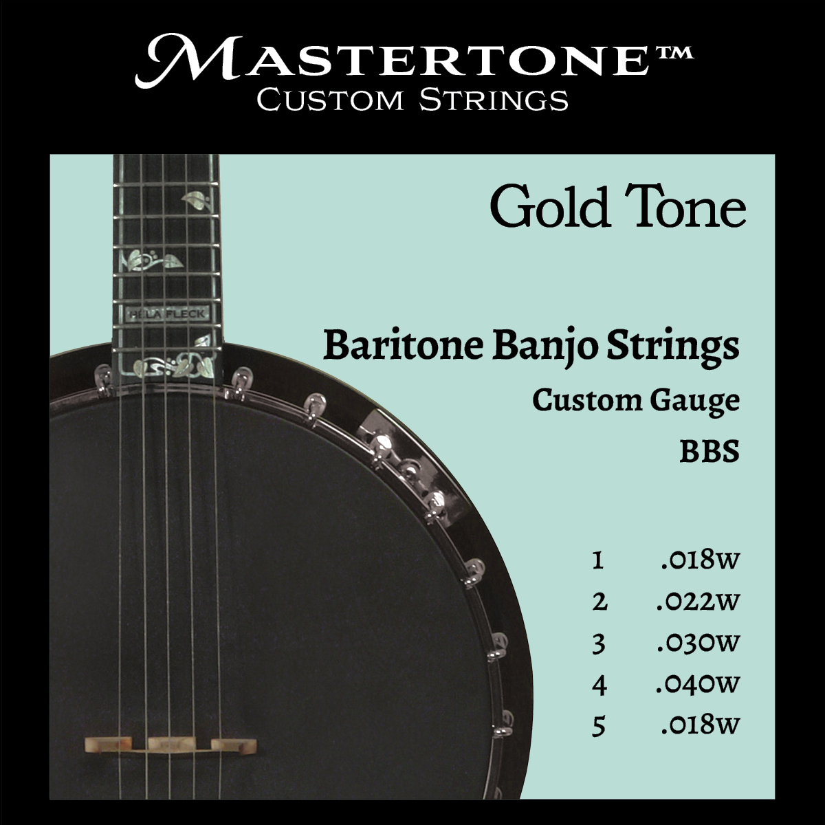 Banjo Baritone Custom Gauge Strings