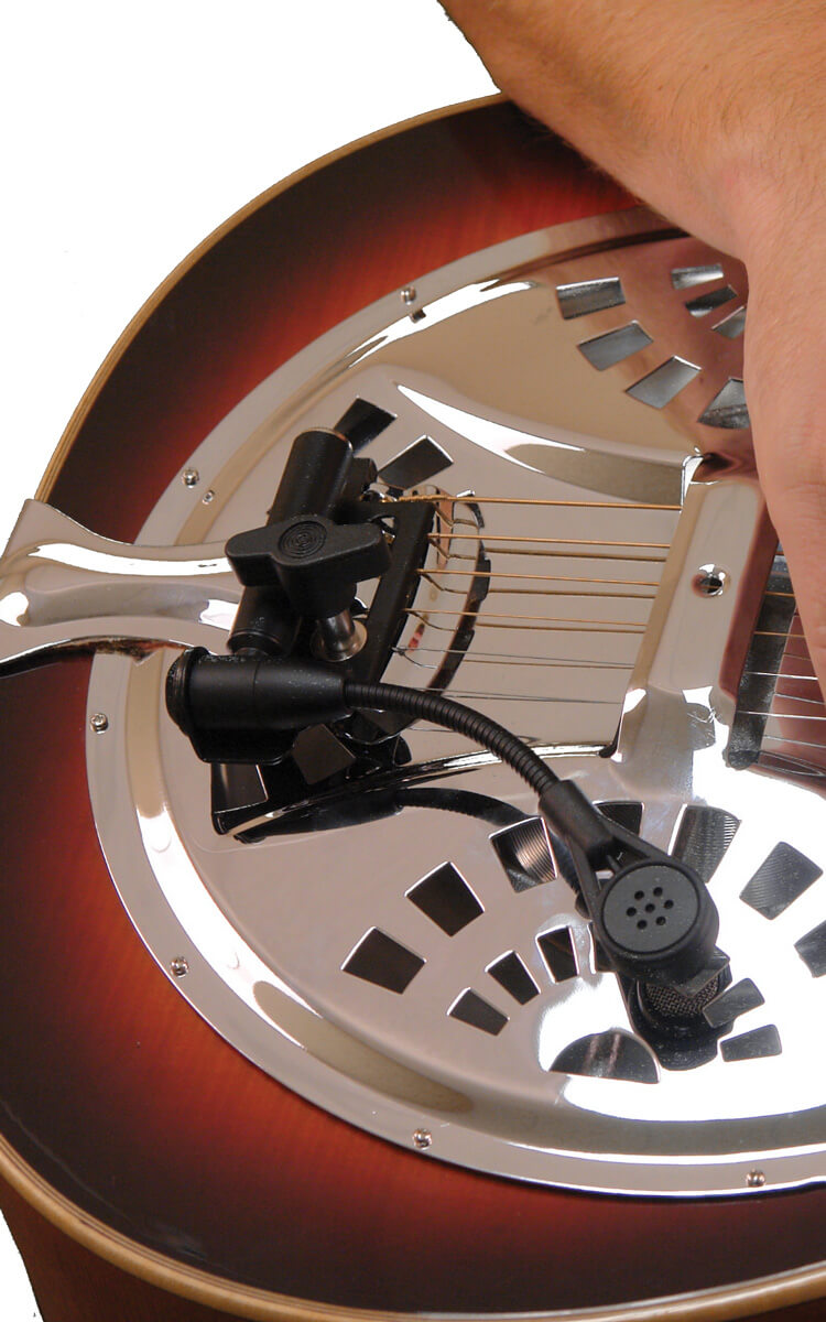 ABS Banjo-Resonator Guitar Mic (Dynamic)