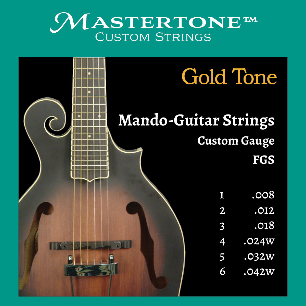 Mando-Guitar Custom Gauge Strings