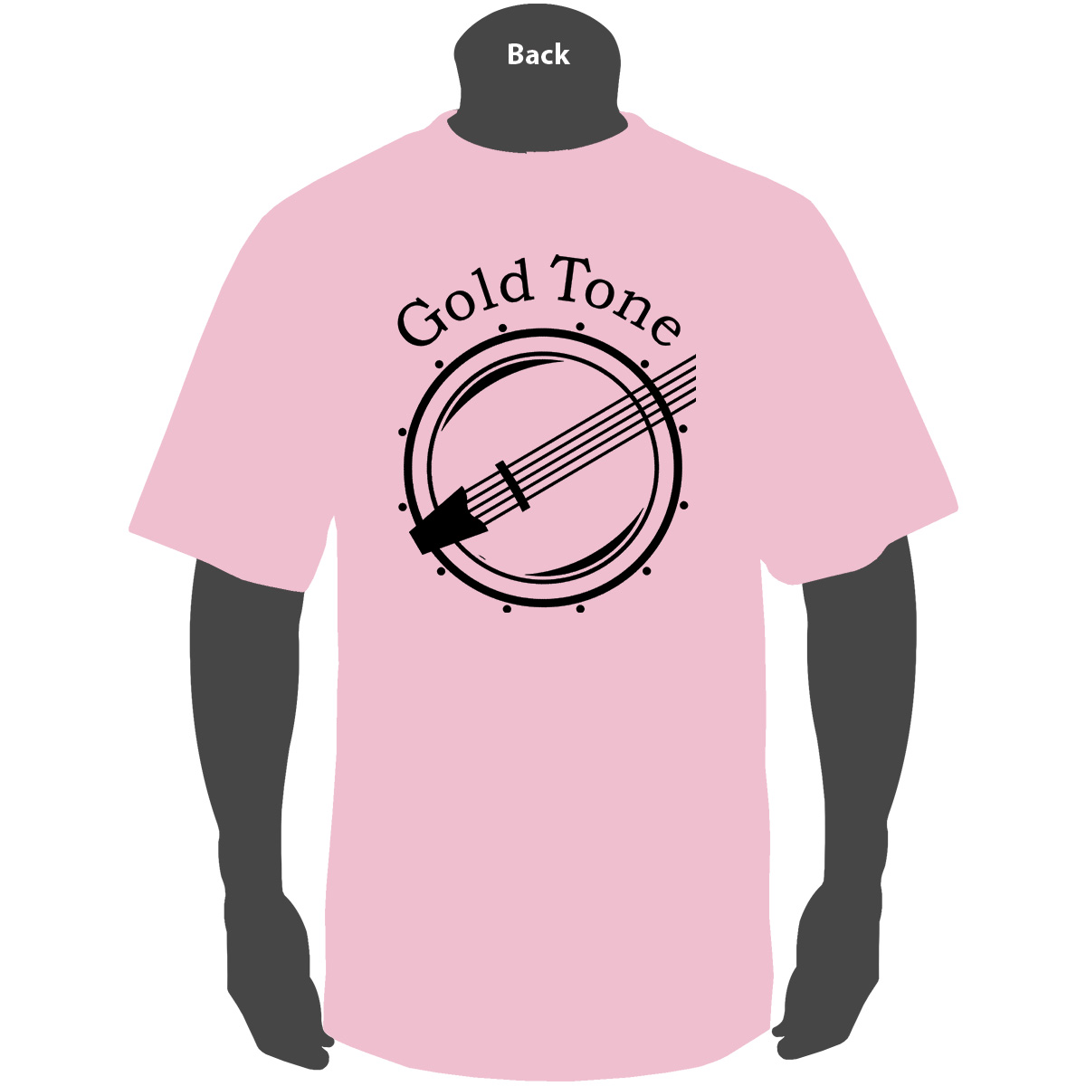 Gold Tone 'Classic' (Pink)