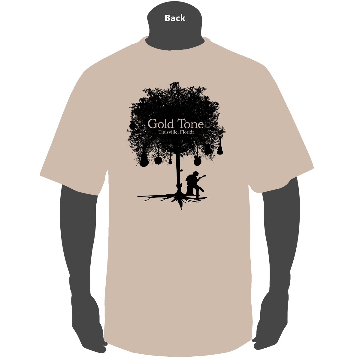 Gold Tone 'Tree of Life' (Tan)