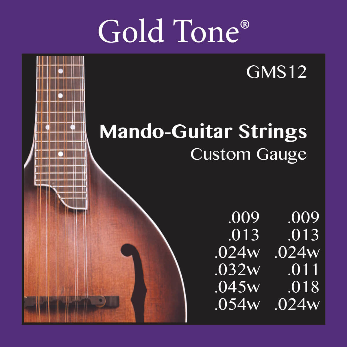 12-String Mando-Guitar Strings (Light)