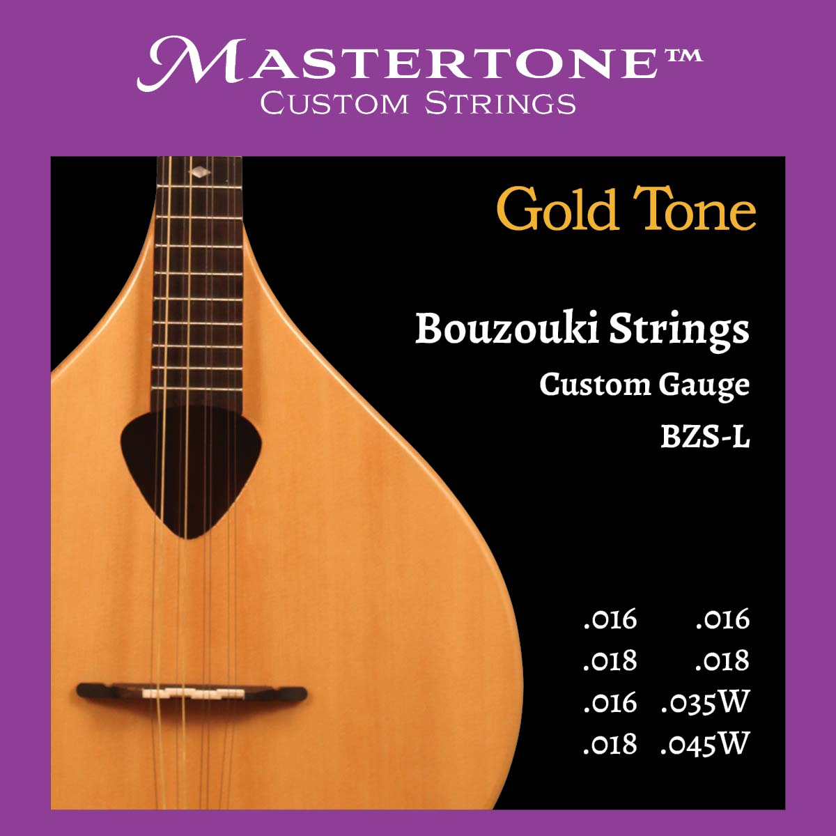 Bozouki Custom-Gauge Strings