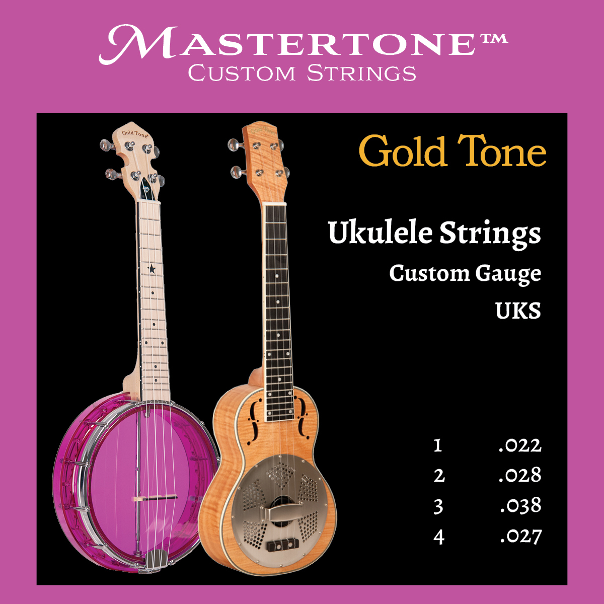 Ukulele Strings (Pack of 3)