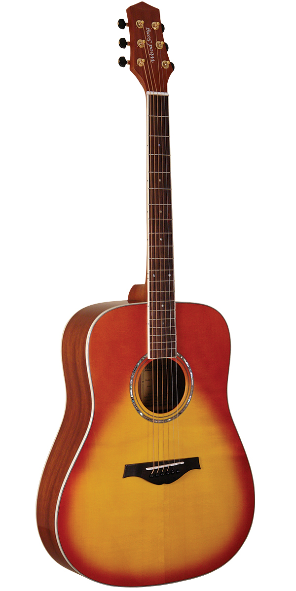 Wood Song Traditional Dreadnought Acoustic Guitar