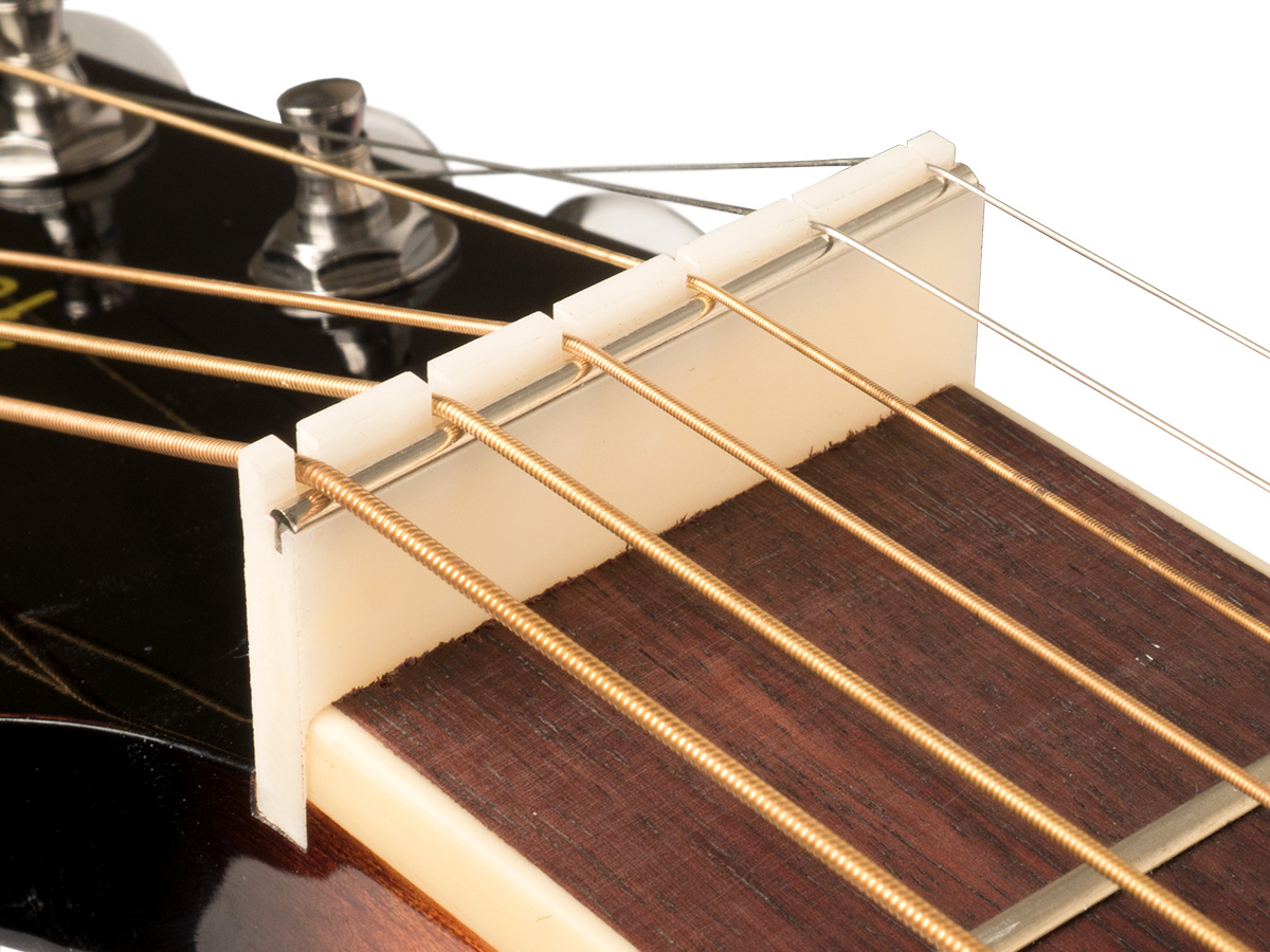 zs 24 slotted for resonator guitars zero glide replacement nut. Black Bedroom Furniture Sets. Home Design Ideas