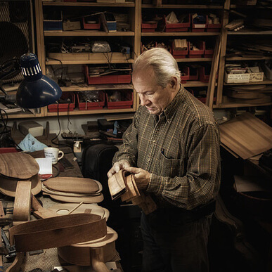 Rick Turner, Celebrity Luthier and CEO of Rick Turner Guitar Company